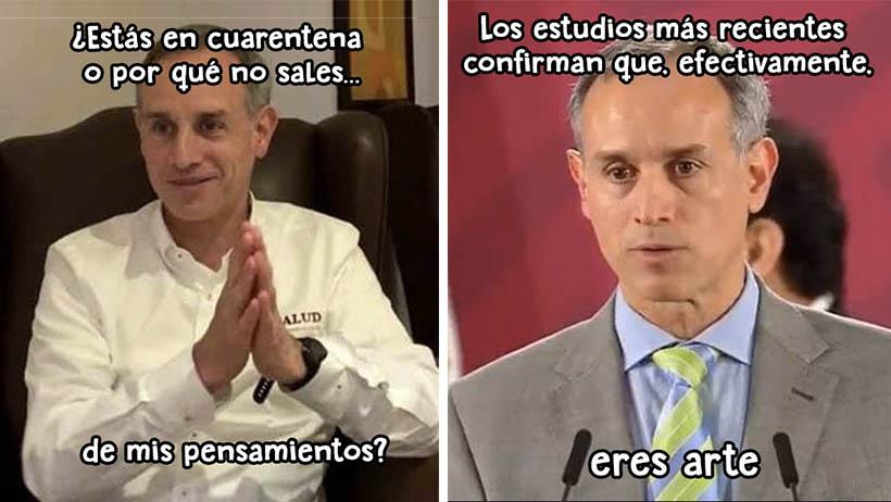 Memes del doctor Hugo López-Gatell