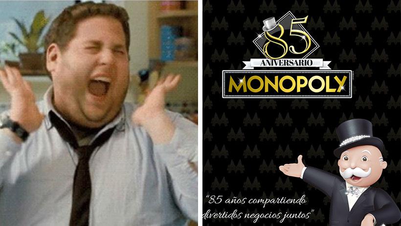 Hoy cumple 85 años Monopoly, el juego que te hace rico y aquí te regalamos uno