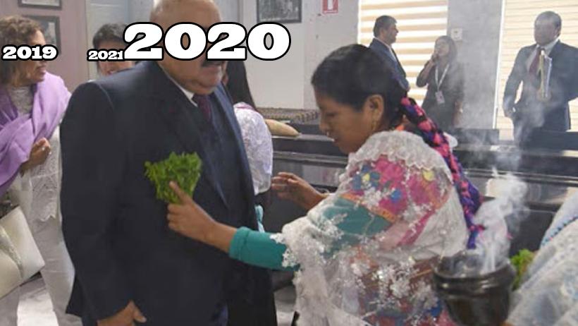 Naciones Unidas contrata 500 brujos para hacerle una limpia al 2020