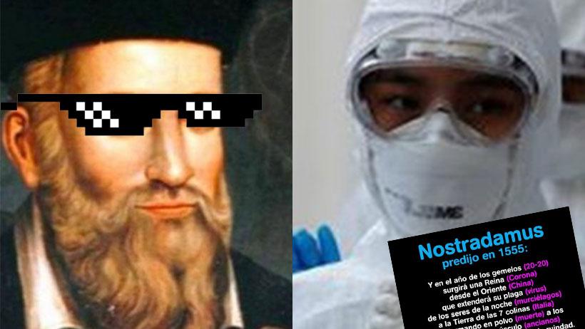 ¿Ah te la creíste? Ahora resulta que la profecía de Nostradamus del coronavirus es falsa