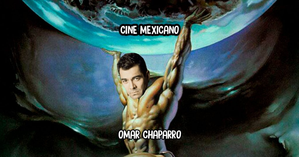 Omar Chaparro lastimado de la espalda por cargar el peso del cine mexicano