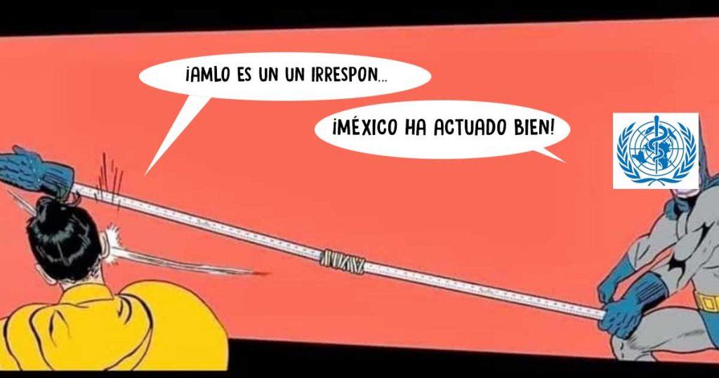 México es una vergüen… ¡LA OMS dice que vamos un paso adelante frente al COVID-19!
