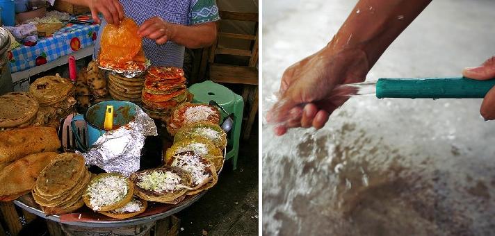 Vendedores de quesadillas informan que ahora sí tendrán que lavarse las manos