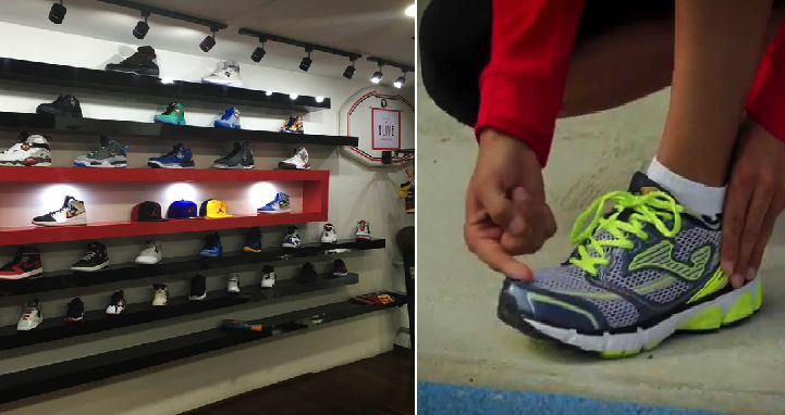 Si vas a robar una tienda de tenis, no te lleves sólo los del pie izquierdo