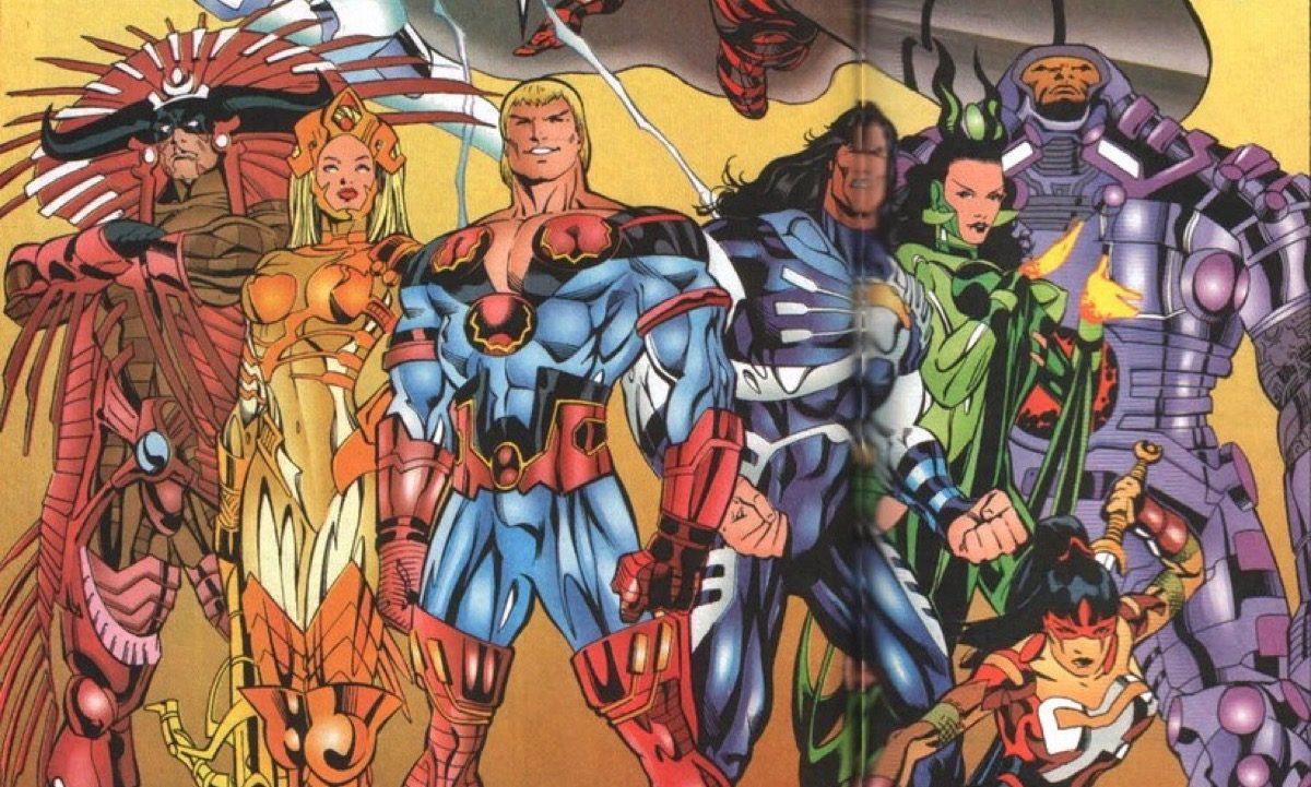 The Eternals Marvel