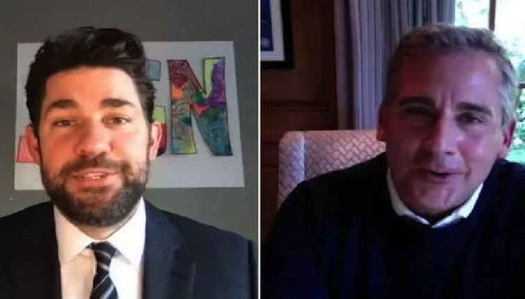 Lo mejor de la Cuarentena: Michael Scott y Jim Halpert se reúnen para hacer 'Home Office'