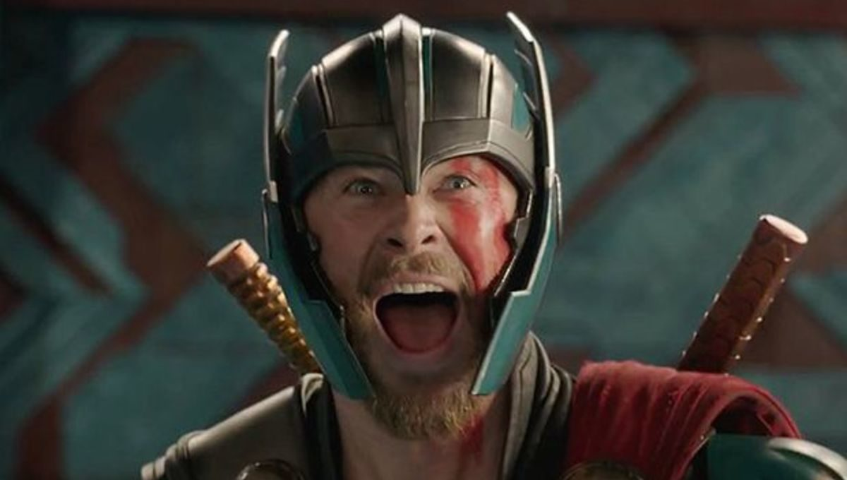 Thor excited