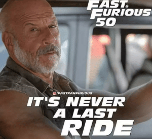 Fast and Furious 50 meme