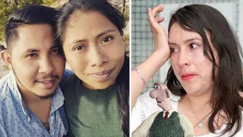 Yalitza Aparicio y su novio golpeador