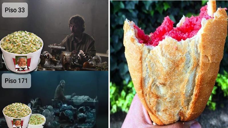 9 comidas que llegarían sin problema a todos los pisos en la película 'El Hoyo'