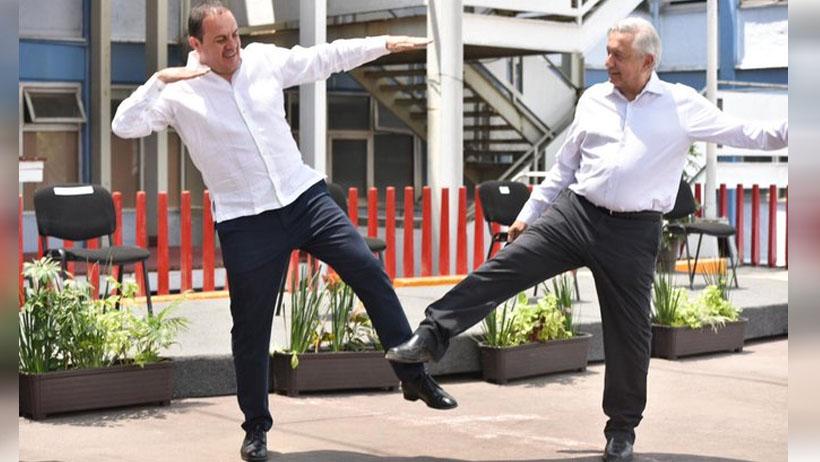 Leyenda que alguna vez llenó el Estadio Azteca se reúne con el gobernador de Morelos