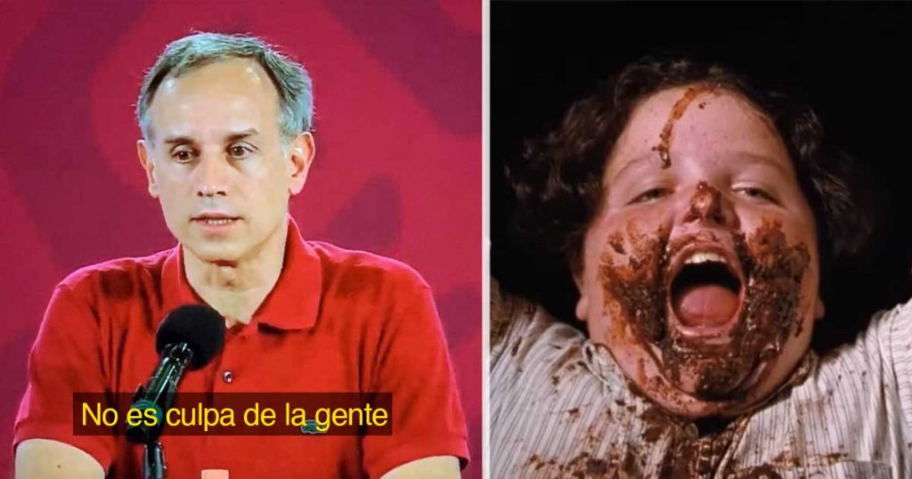 López Gatell nos apoya a los gorditos y dice que el Sistema tiene la culpa de la obesidad (VIDEO)
