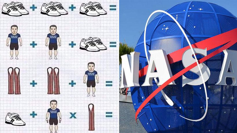 NASA contratará a personas que respondieron correctamente el problema de los tenis