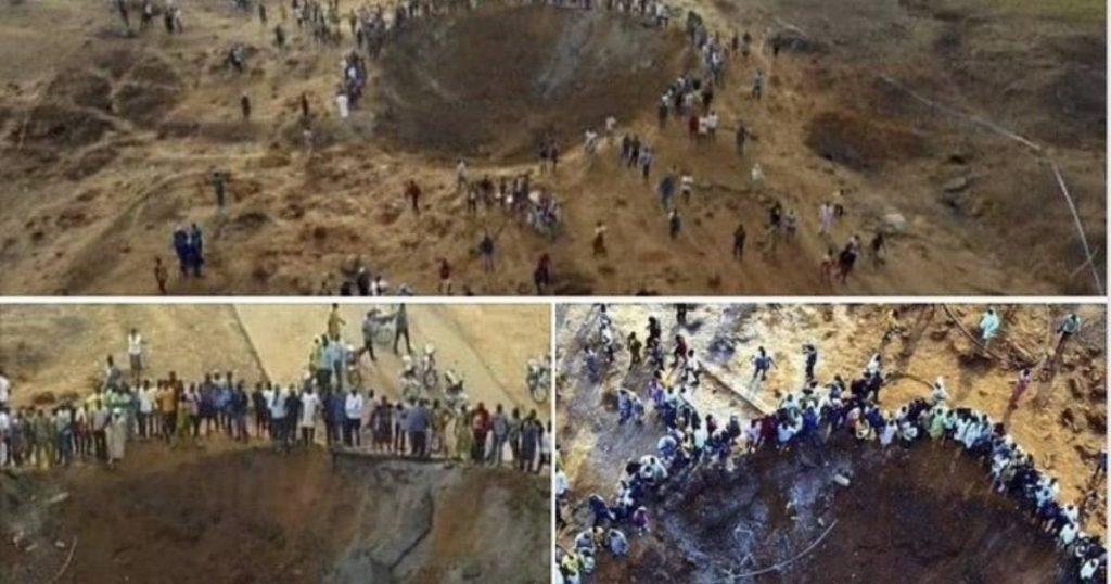 Meteorito en Nigeria: la historia detrás de las imágenes de la falsa caída