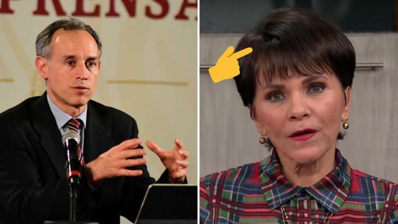 Reporteros piden a López Gatell que investigue si Pati Chapoy usa peluca