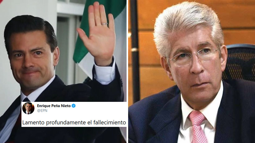 EPN reaparece en Twitter y lamenta el fallecimiento de Ruiz Esparza