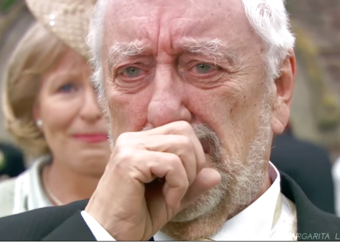 wilfred mott crying