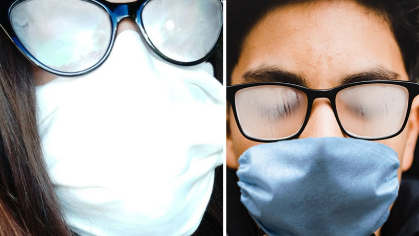 Personas con lentes exigen cese a la cuarentena para recuperar la vista