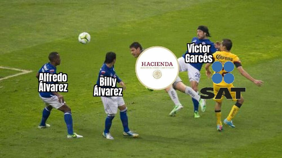 cruz azul billy alvarez hacienda meme