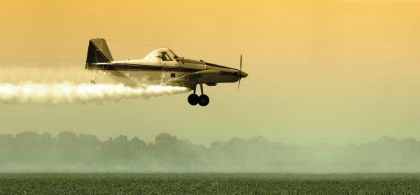 avion cultivos paraquat