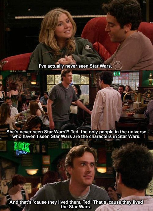 How I Met Your Mother Star Wars