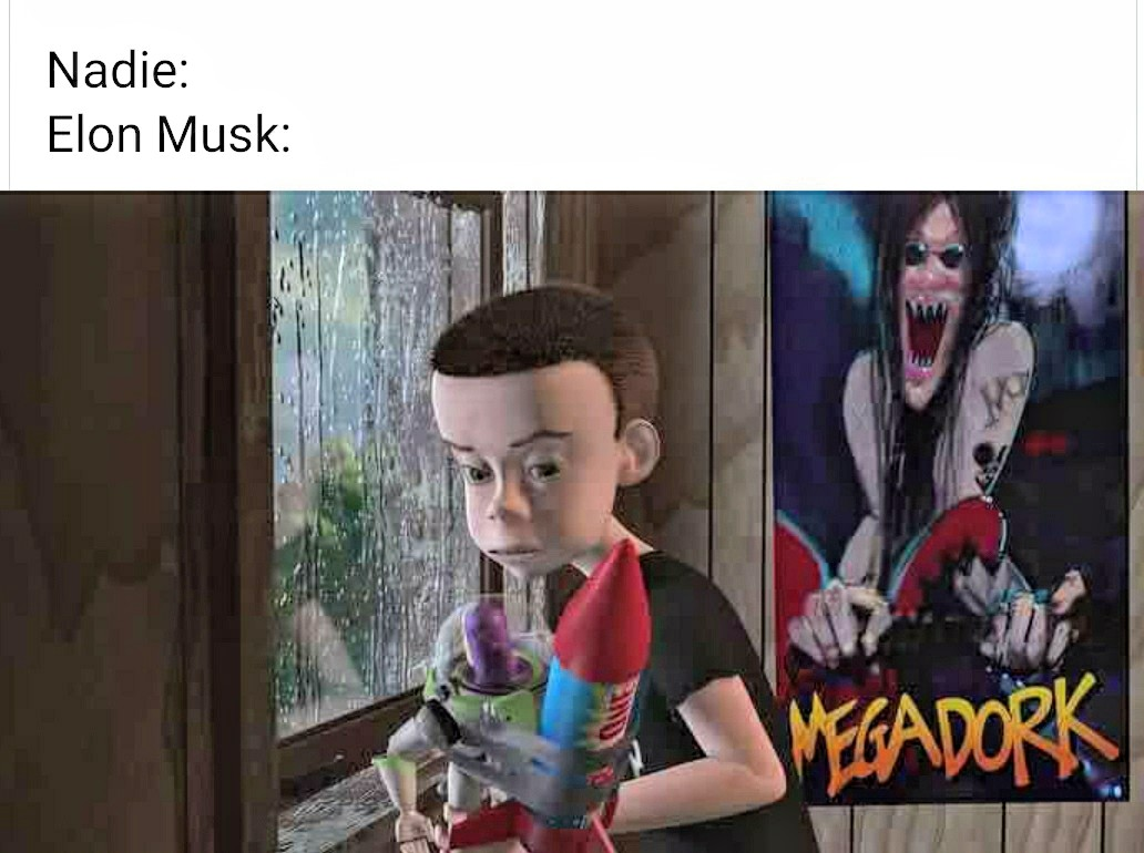 Elon Musk spacex meme toy story