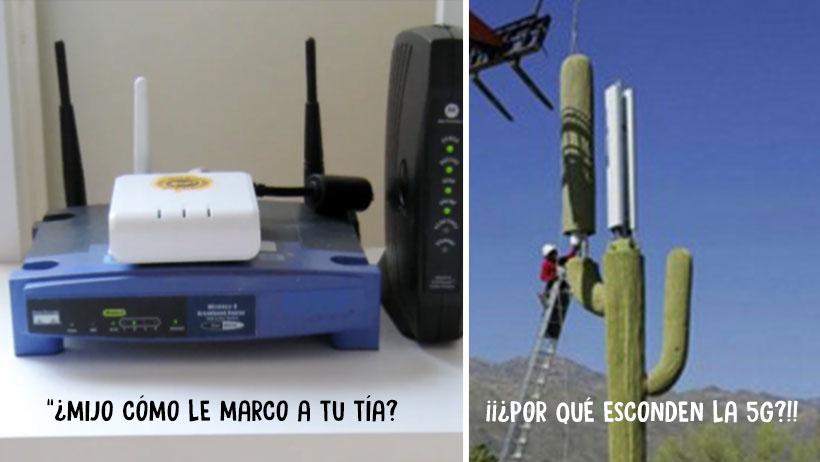 Personas que no saben cómo funciona su módem, son expertas en instalación de antenas  5G