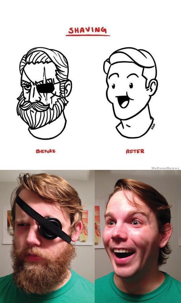 meme beard