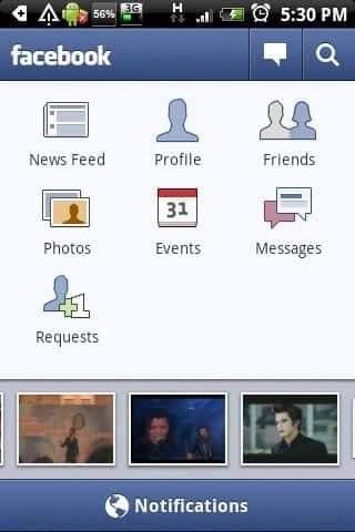 facebook viejo