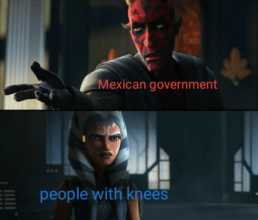 star wars meme knee liquid