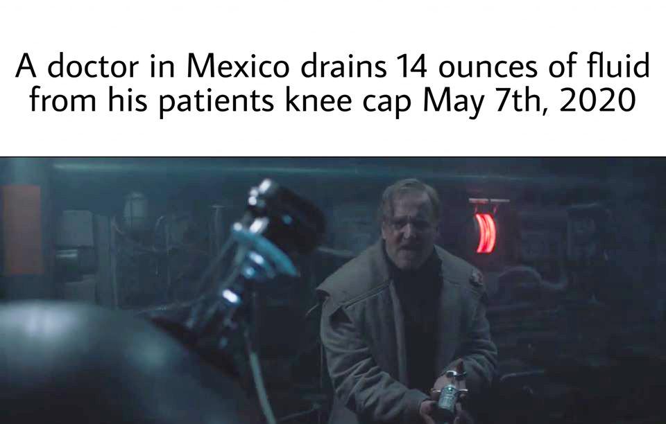 knee liquid meme doctor mexico