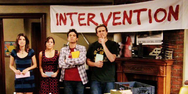 intervention himym