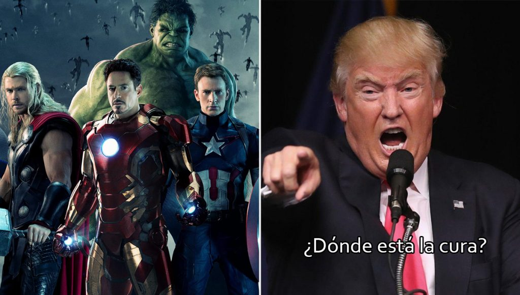 Estados Unidos demanda a los Avengers por no salvarlos del coronavirus