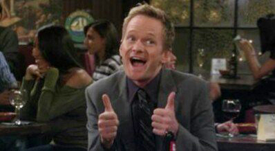 Barney Stinson Thumbs Up // nota perritos