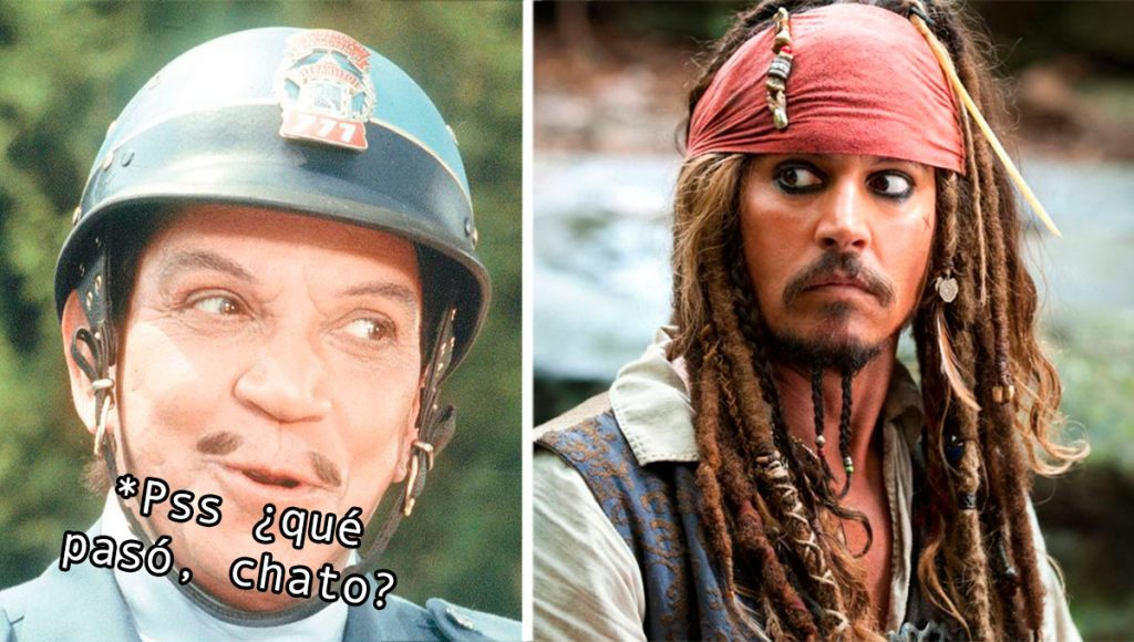Cantinflas en Hollywood sería personificado por Johnny Depp