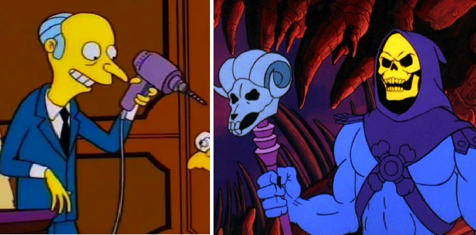 Otras 8 caricaturas donde los malos eran mucho más chidos que los buenos