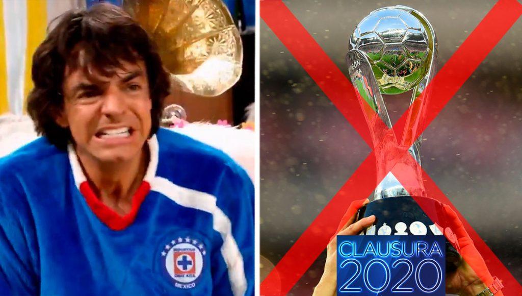 clausura 2020 cancelado liga mx futbol mexicano cruz azul
