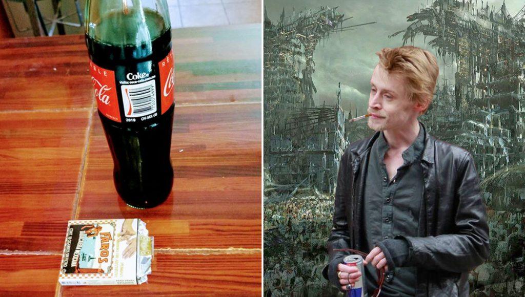 Personas que desayunan Coca con cigarro serán los únicos sobrevivientes al Apocalipsis