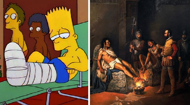 Revelan que lo que Hernán Cortés quería era el líquido de las rodillas de Cuauhtémoc