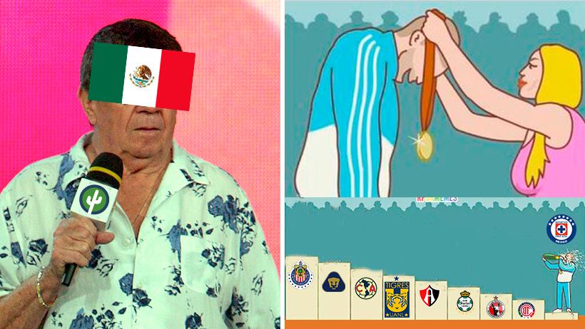 Cover Cruz Azul Liga MX Cancelada