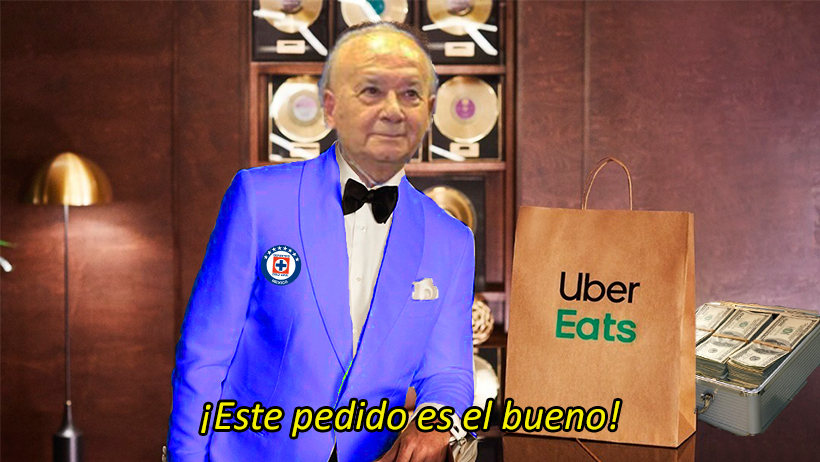Cover Cruz Azul Uber Eats Billy Álvarez