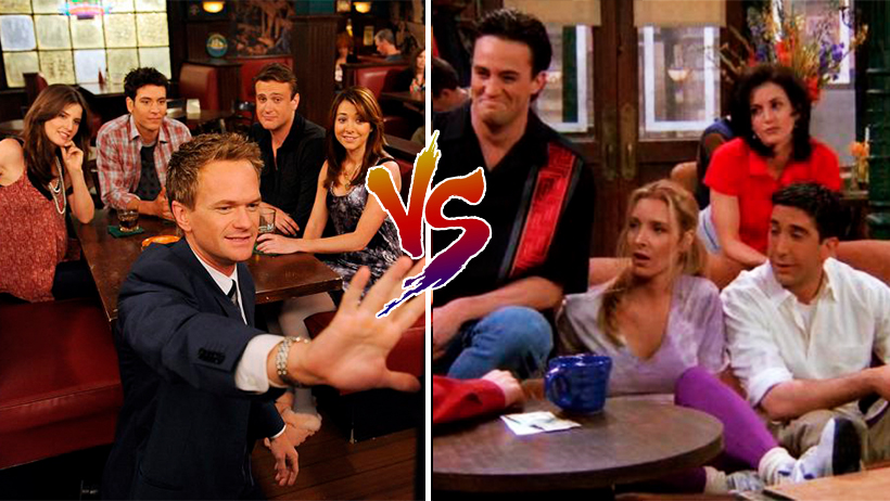 Cover How I Met Your Mother vs Friends