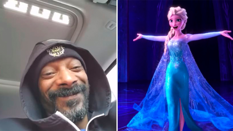 Cover Snoop Dogg Let It Go Frozen