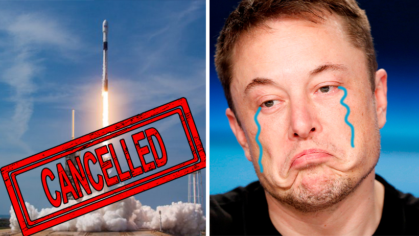 Cover SpaceX NASA Cancelado Clima