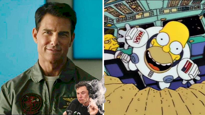 Cover Tom Cruise Elon Musk Nasa Película