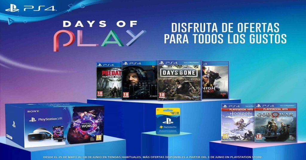 Days of Play 2020: ya llegaron las ofertas en juegos de PlayStation y más