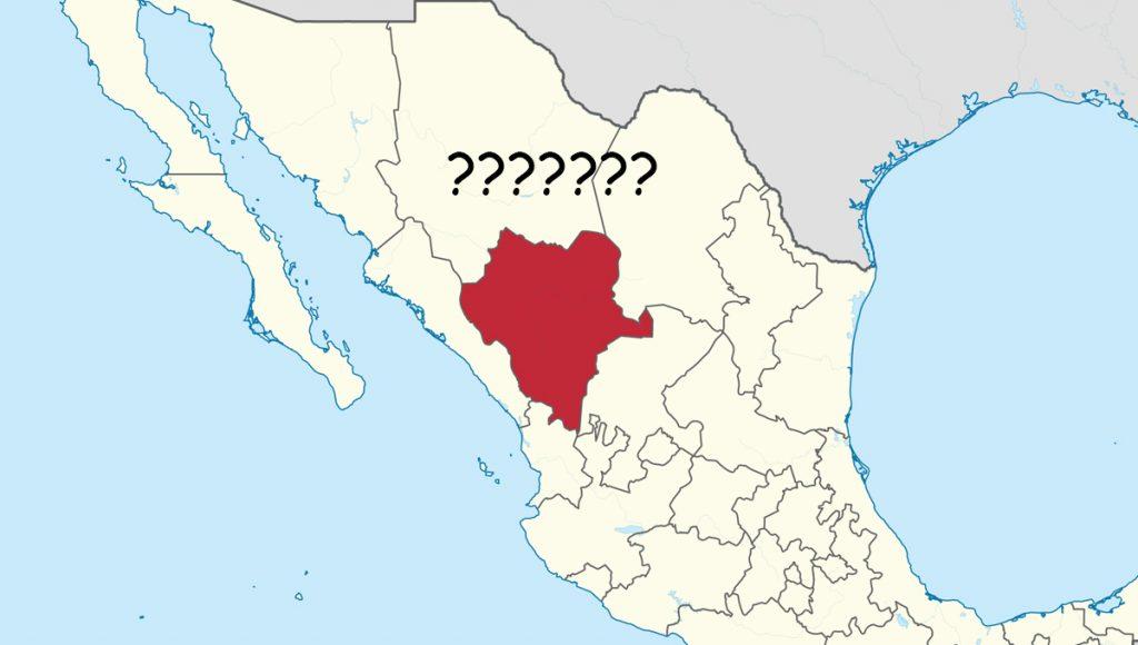 Confirman la existencia de un espacio entre Zacatecas y Sinaloa llamado ¿Durango?