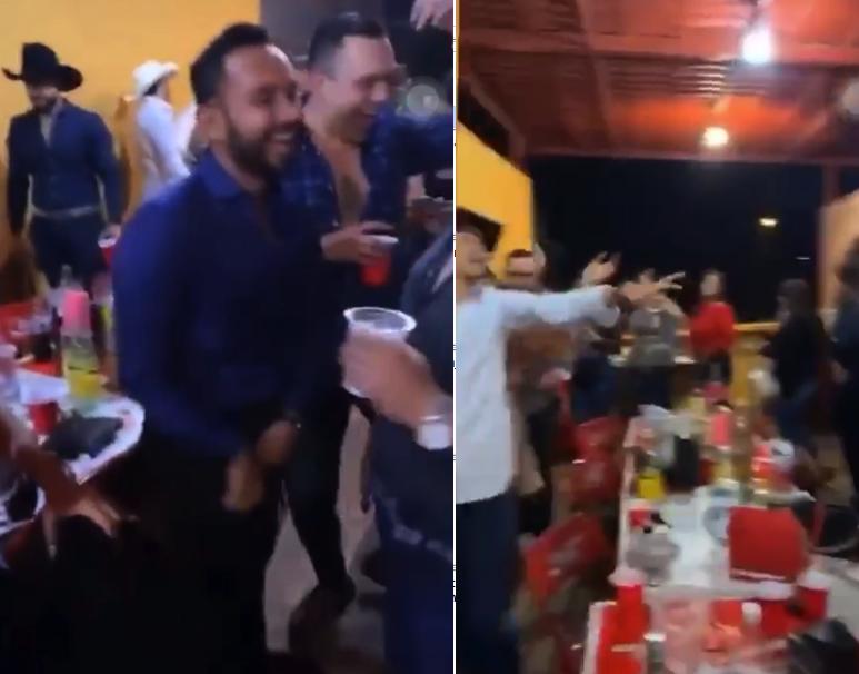 En Aguascalientes ya no están en cuarentena (según ellos) y hasta fiestas con tambora andan haciendo