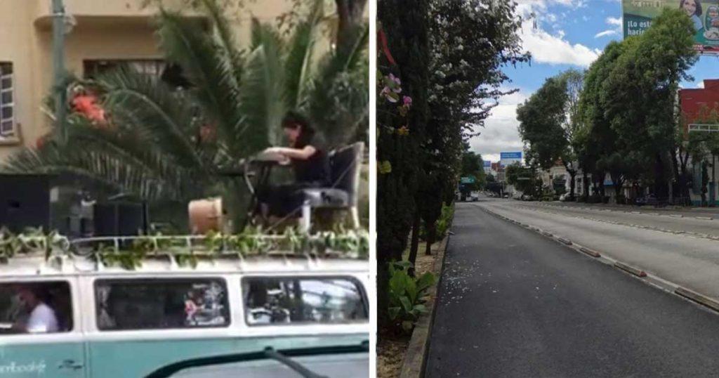 Calles de la CDMX 100% vacías ante amenaza de Flor Amargo