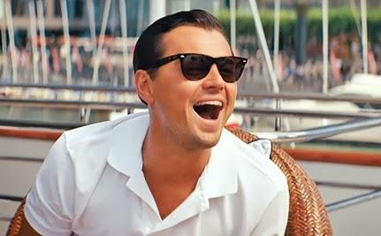 Leonardo DiCaprio Laugh